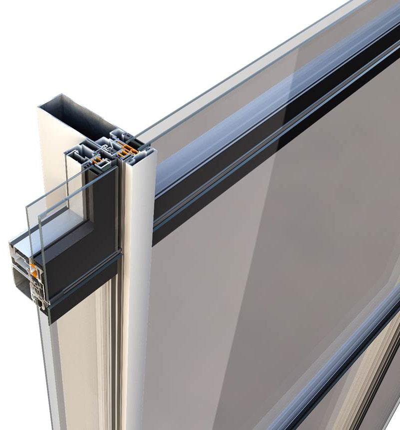 Sistemul de pereti cortina M6