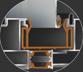 Poliamida cu camera pentru toc si in zona de by-pass. O mai buna conectare, rezistenta si izolare termica ridicata.