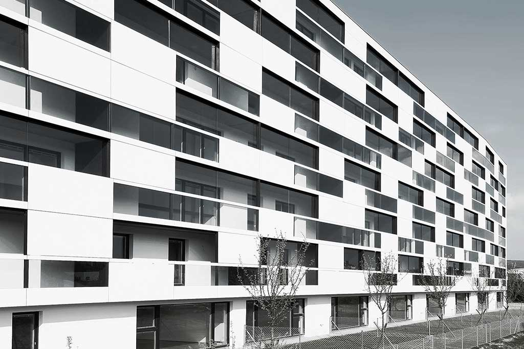 EQUITONE [pictura] Austria - Simply - clădire cu 11 apartamente