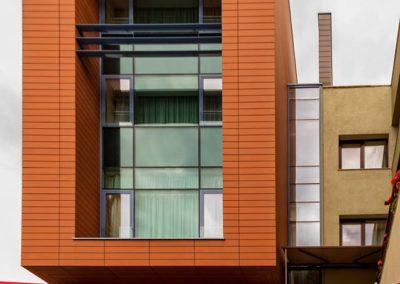 Hotel Pleiada - Balustradă Aluminiu