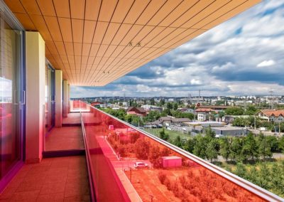 Hotel Pleiada - Detaliu terasă