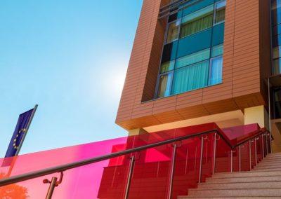 Hotel Pleiada - Fațadă laterală dreapta