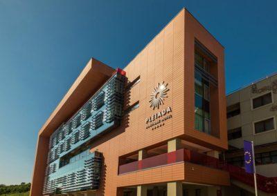 Hotel Pleiada - Fațada principală