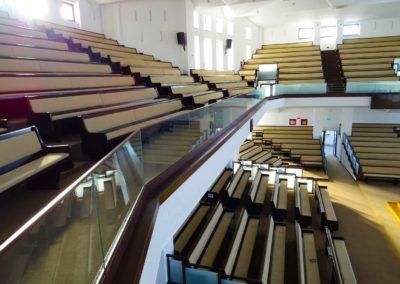 Balustrada din sticla - sala conferinta